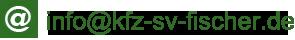 Fischer & Partner GmbH - KFZ Sachverständigenbüro - Neufahrn in Oberbayern - E-Mail